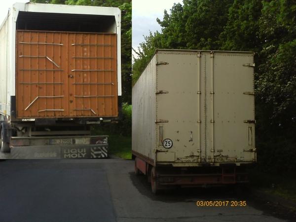abgestellte Schaustellerwagen werden amtlich geduldet