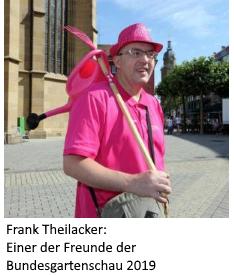Frank Theilacker: Einer der Freunde der Bundesgartenschau